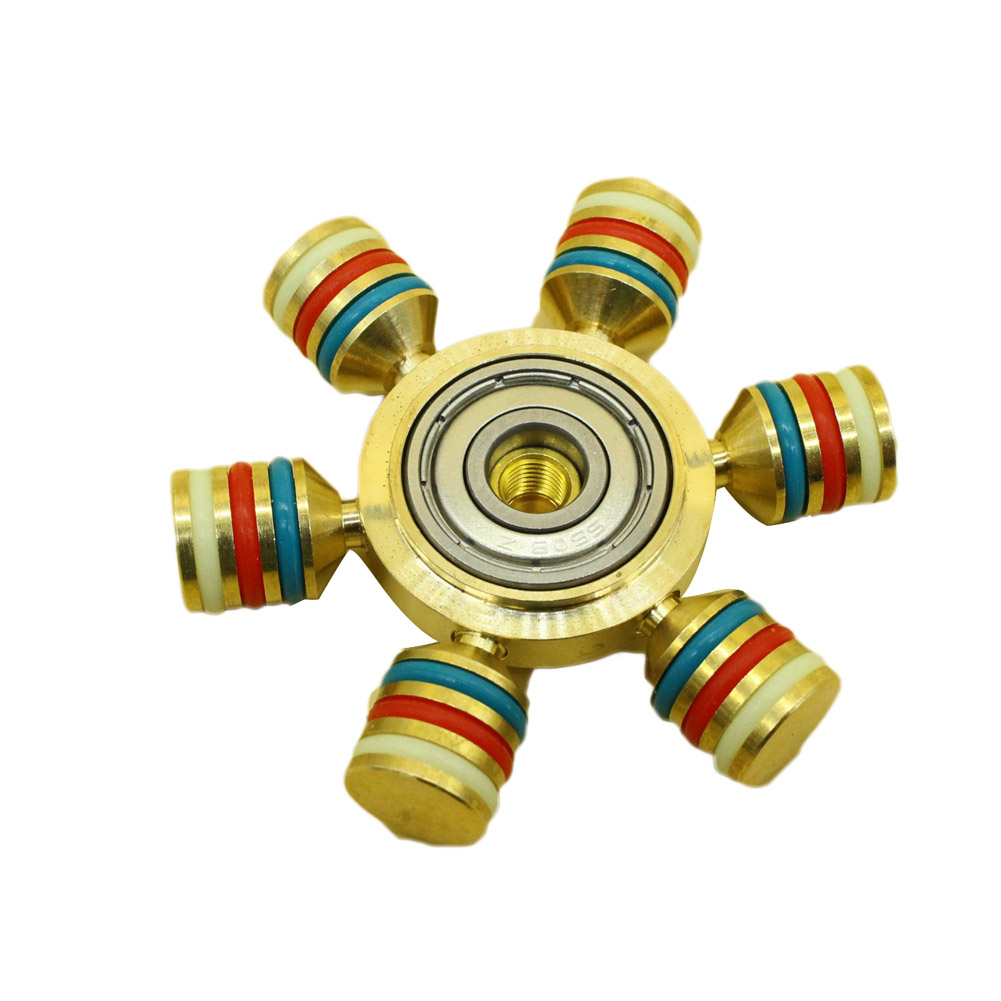 2017 new edc tri spinner fidget toys pattern hand spinner. Black Bedroom Furniture Sets. Home Design Ideas