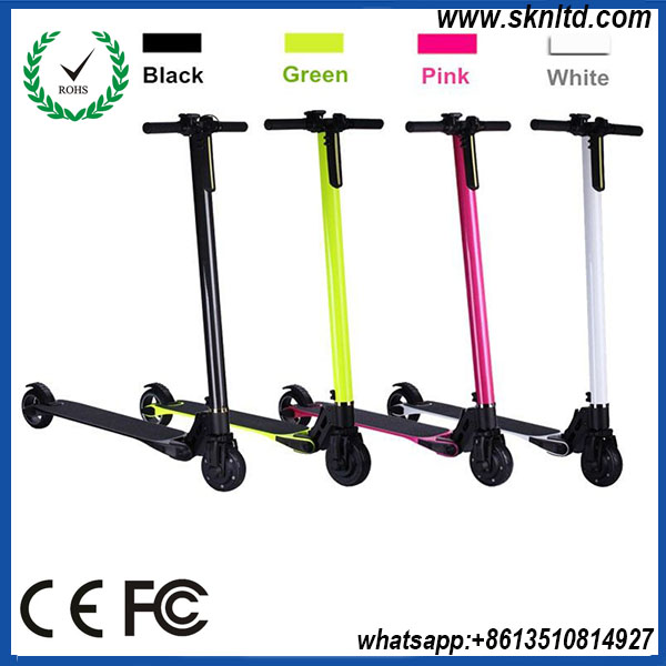 electronic 5inch foldable scooter