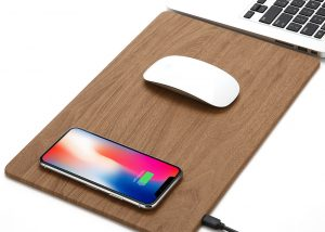 a wireless charger pad